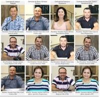 Vereadores formam comissões permanentes da Câmara de Ariranha